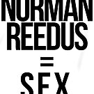 Fangirl Math: Reedus = Sex (sticker) by eltrk
