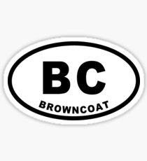 Browncoat - Euro Sticker Sticker