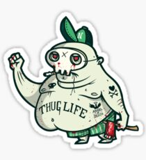 Thug Life Character. Sticker