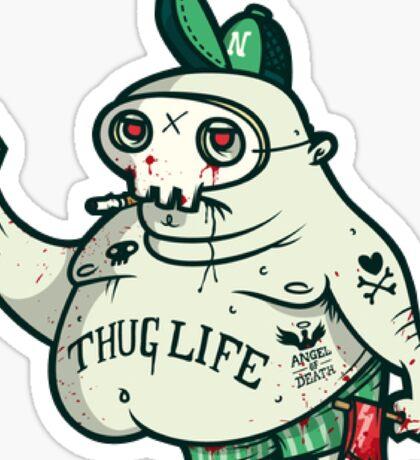 Thug Life Character. Sticker