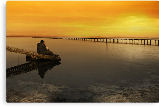 Sittin' on the dock of the bay by Chris Brunton