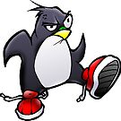 Angry Tux by Arthur Reeder