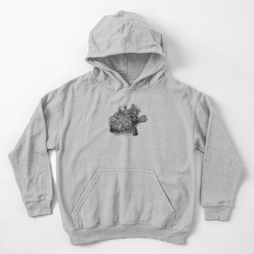 Andrew the Angler Kids Pullover Hoodie
