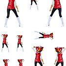 Haruko Sticker Sheet by IMTShop