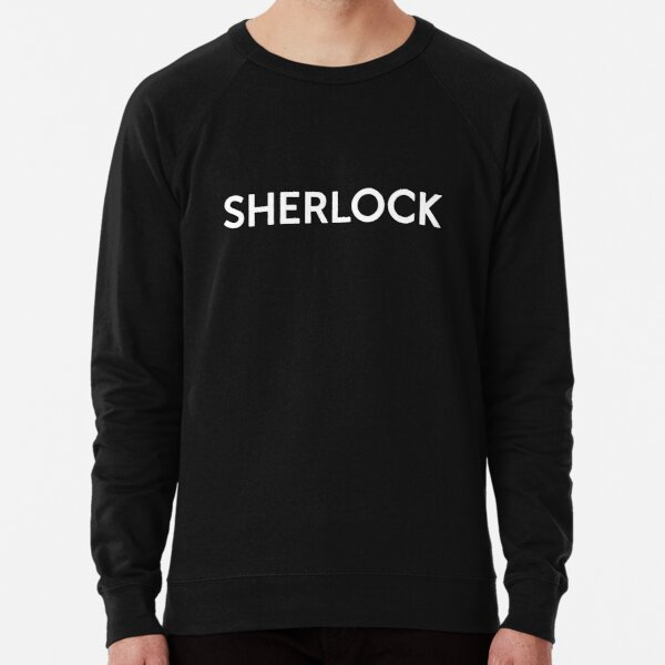 Minimalist Sherlock Lightweight Sweatshirt