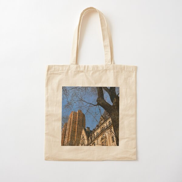 New York City Apartments along 72nd Street Cotton Tote Bag