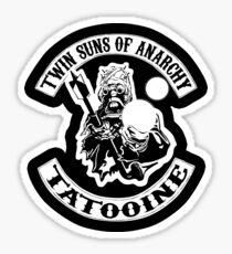 Twin Suns of Anarchy - sticker Sticker