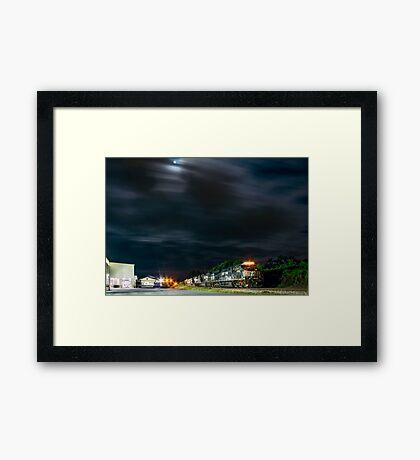 7594 Under Moonlight Framed Print