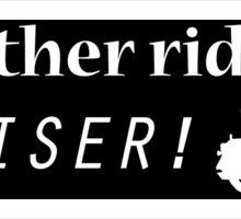 My other ride is a Cruiser! - Sticker Sticker