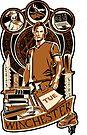 Sammy Sticker by Ryleh-Mason