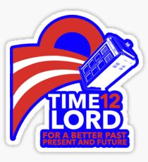 Time Lord '12 (Sticker) Sticker