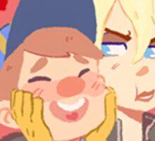 heroes cuties Sticker