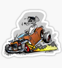 Skreeeech Rat Rod Sticker