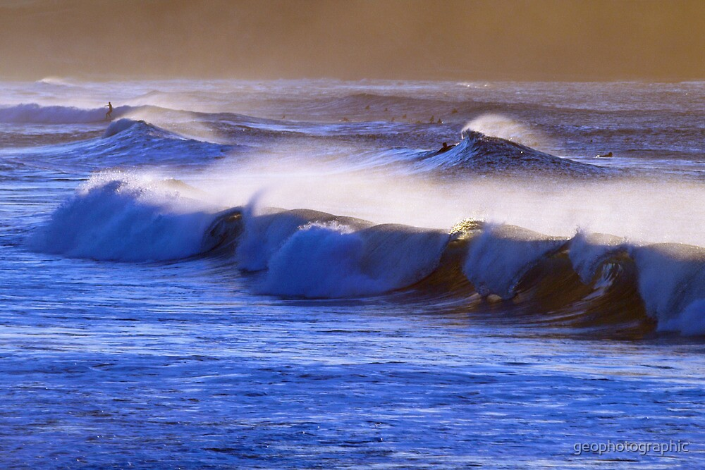 Morning waves II by geophotographic