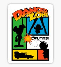 Wherever There Is Danger Sticker