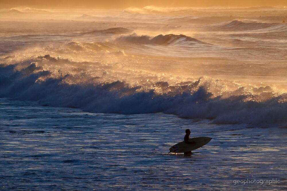 Into the waves by geophotographic