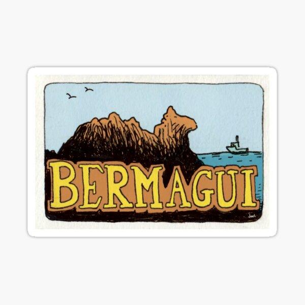 Travel sticker: Bermagui Camel Rock Sticker