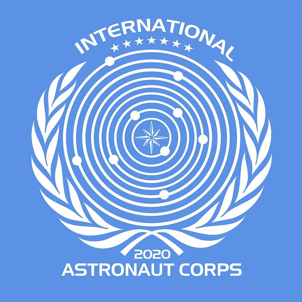"""International Astronaut Corps"" by Bob Bello | Redbubble"