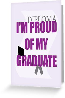 proud of grad card by dedmanshootn