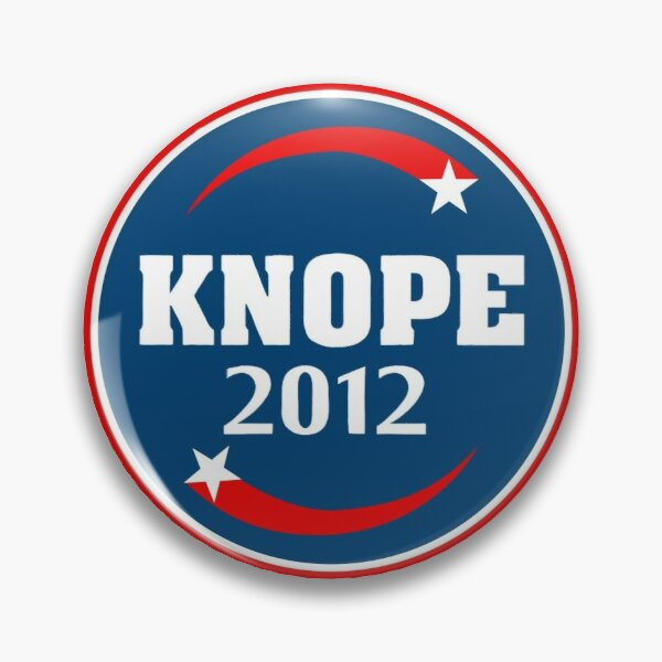 Knope 2012 Campaign Pin