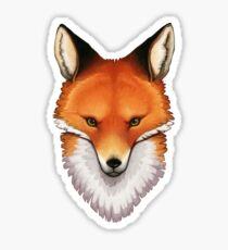 Foxface Sticker