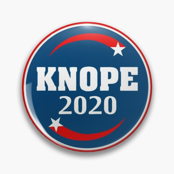 Knope 2020 Campaign Pin