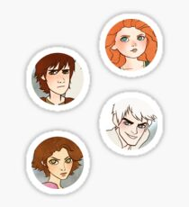 The Big Four Sticker Pack Sticker