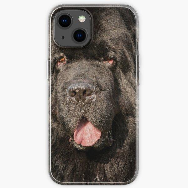 Newfoundland Dog  iPhone Soft Case