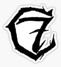 7c Black Sticker