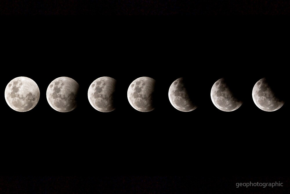 Partial Lunar Eclipse   by geophotographic