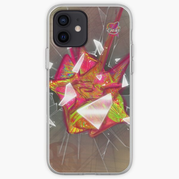 Blossom Hair Pin Breaking The Window iPhone Soft Case