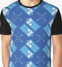 Gallifrey Argyle Graphic T-Shirt