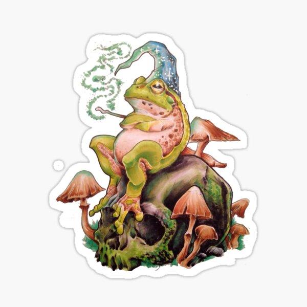 The Frog Wizard Sticker