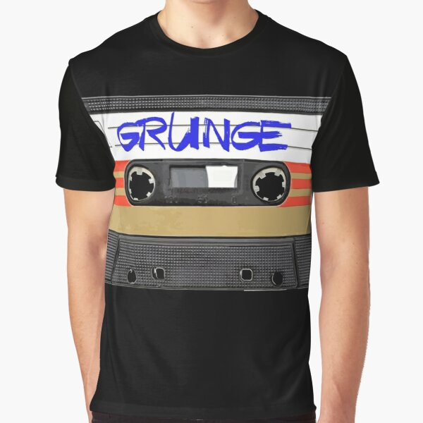 Grunge Music Graphic T-Shirt