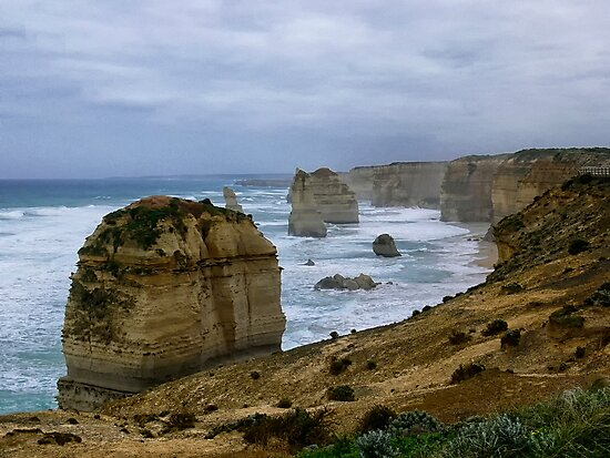 The 12 Apostles - Great Ocean Road by Sandra Chung