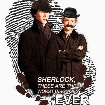 Sherlock & Watson in disguise by 52films