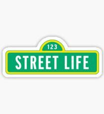 "Sesame Street ""Street Life"" Sticker Sticker"