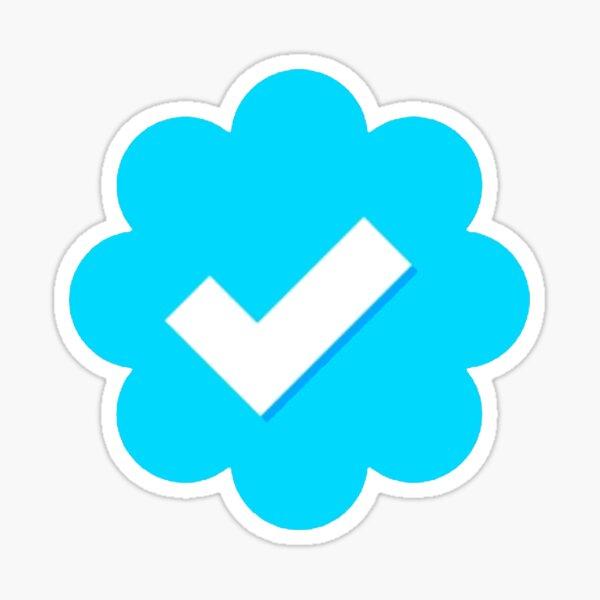 Twitter verificado Pegatina
