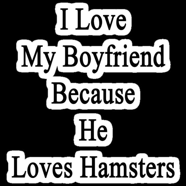 I Love My Boyfriend Because He Loves Hamsters  by supernova23