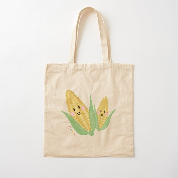 The Cheery Corn  Cotton Tote Bag