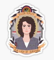 Ellen Ripley Sticker