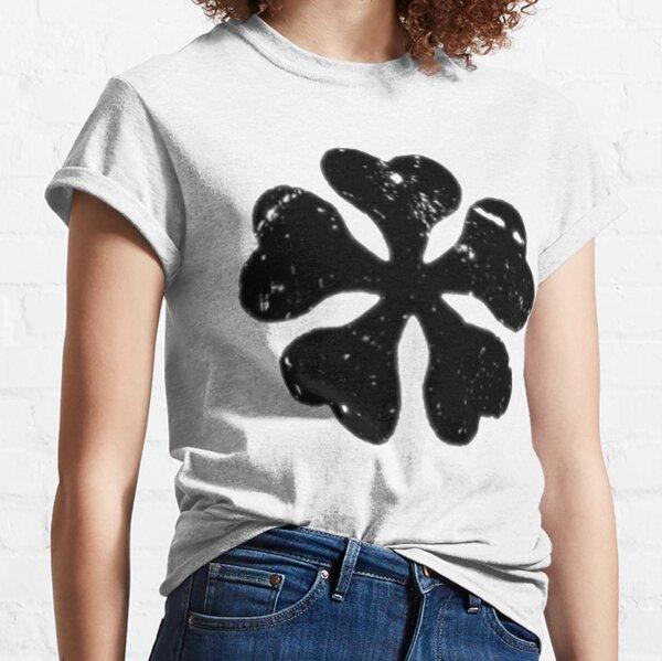 Logo de trébol negro Camiseta clásica