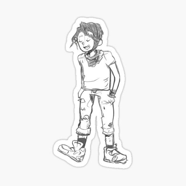 aw yea finny time (redraw) Sticker