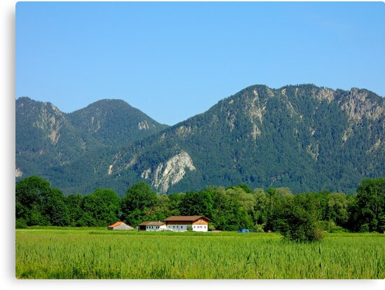 Germany, Bavaria, Countryside, by Daidalos