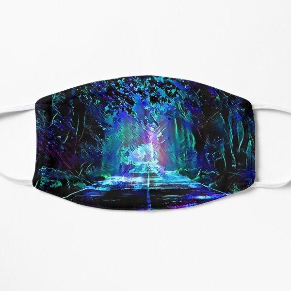 Blacklight Night on Aurora Road Mask