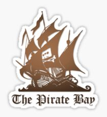 The Pirate bay  Sticker