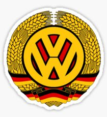DDR VW Sticker