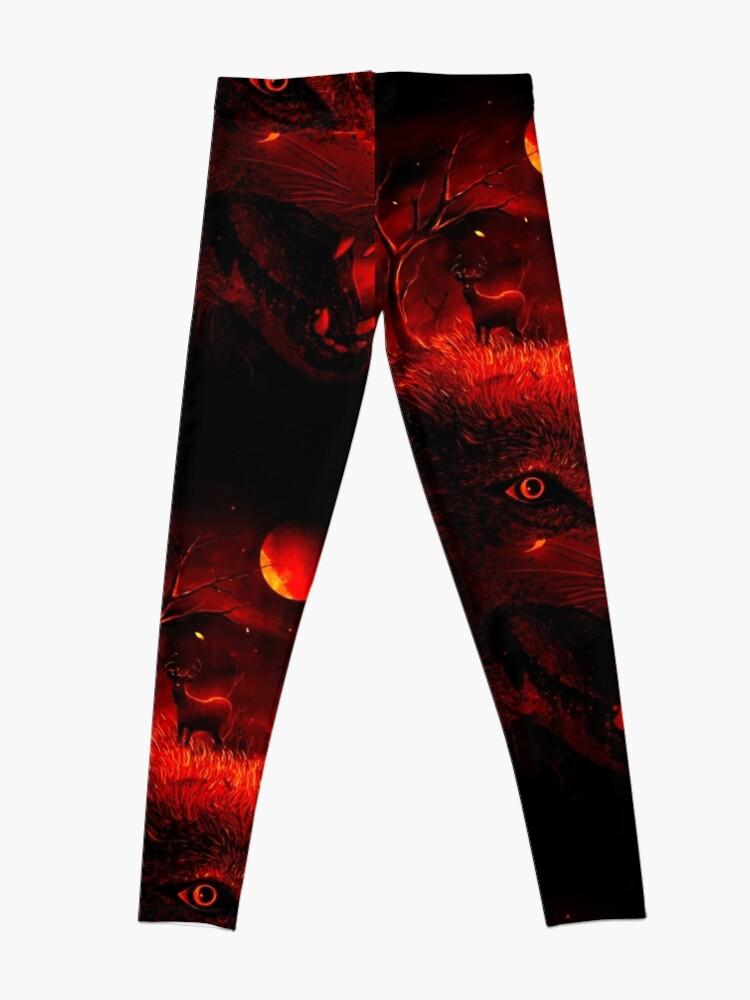 Alternate view of Red Dream Leggings
