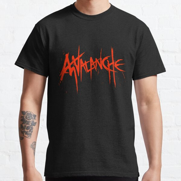 Avalanche (Red Text) Classic T-Shirt