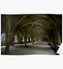 Fountains Abbey (31-14) Poster